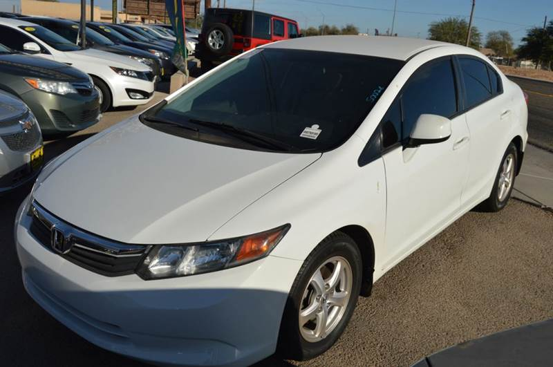 2012 Honda Civic Natural Gas 4dr Sedan   Gadsden AZ