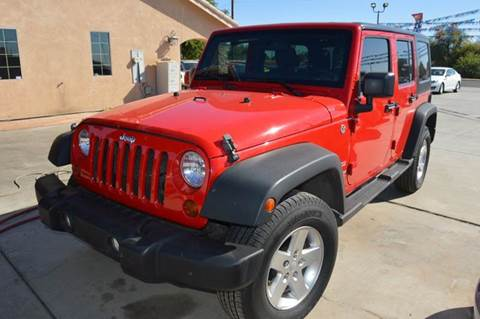 2012 Jeep Wrangler Unlimited for sale in Gadsden, AZ