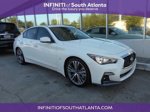 2018 Infiniti Q50 for sale in Union City, GA