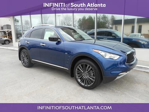 2017 Infiniti QX70 for sale in Union City, GA