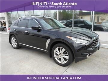 2013 Infiniti FX37 for sale in Union City, GA