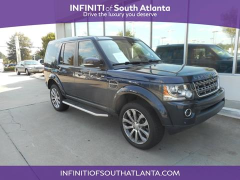 2015 Land Rover LR4 for sale in Union City, GA