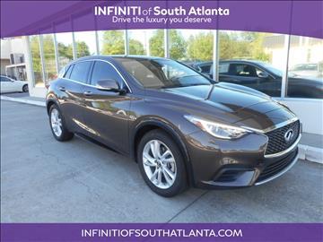 2017 Infiniti QX30 for sale in Union City, GA