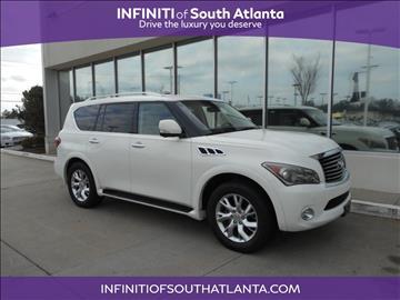 2011 Infiniti QX56 for sale in Union City, GA