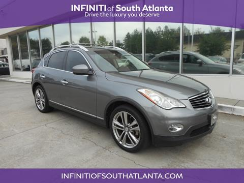 2011 Infiniti EX35 for sale in Union City, GA