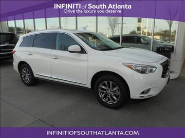 2013 Infiniti JX35 for sale in Union City, GA