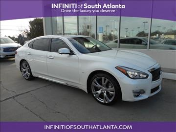 2017 Infiniti Q70L for sale in Union City, GA