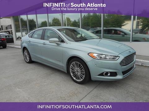 2013 Ford Fusion Hybrid for sale in Union City, GA
