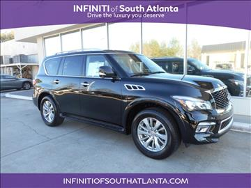 2017 Infiniti QX80 for sale in Union City, GA