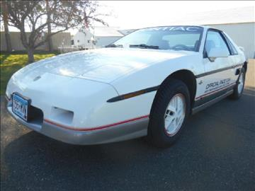 1984 Pontiac Fiero for sale in Pease, MN