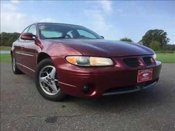 2002 Pontiac Grand Prix for sale in Pease, MN