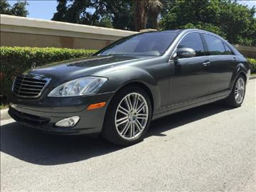 2007 Mercedes-Benz S-Class for sale in Hollywood, FL
