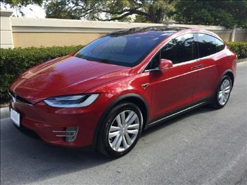 2016 Tesla Model X for sale in Hollywood, FL