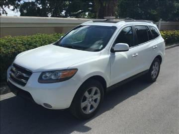 2007 Hyundai Santa Fe for sale in Hollywood, FL