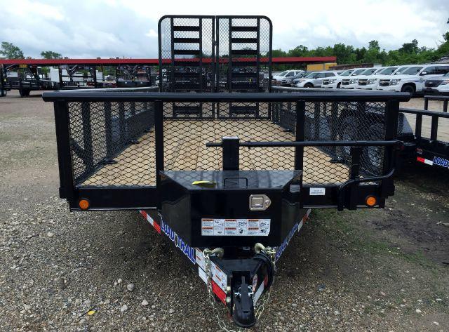 2015 Load Trail 77 X 12 SINGLE AXLE WITH BI-FOLD TAIL GATE
