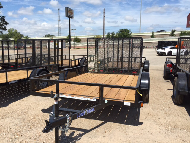 2015 Load Trail 77X10 Single Axle Utility Trai