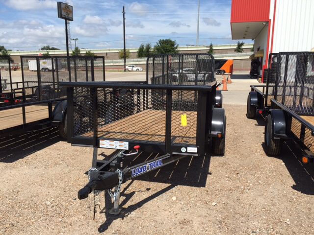 2015 Load Trail 5X10 Single Axle Utility Trail