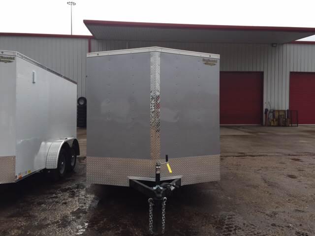 2016 Continental Cargo 7X14 Tandem Axle Enclosed Trai
