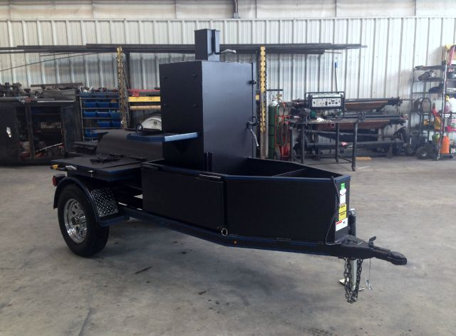 Used 2014 Smoker Bbq 4x8 Single Axle Countryside Cooker