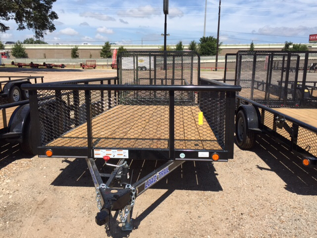 2015 Load Trail 77X12 Single Axle Utility Trai