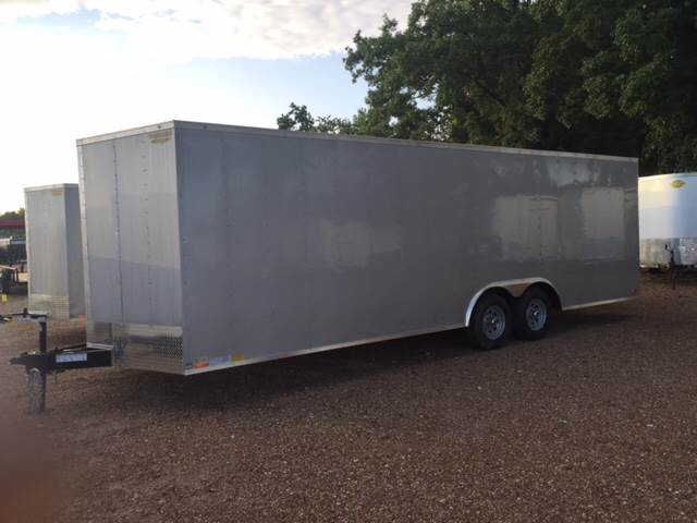 2016 Continental Cargo 8.5X24 Enclosed Car Hauler Tra
