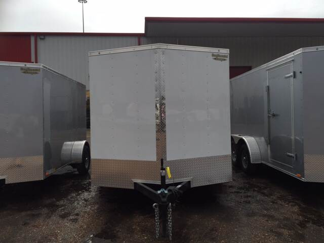 2016 Continental Cargo 7X12 Tandem Axle Enclosed Trai