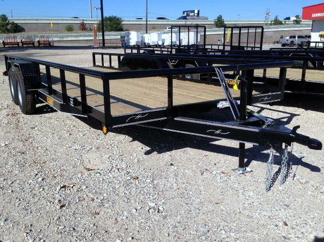 2014 KEARNEY 83 X 20 TANDEM AXLE PIPE TOP UTILITY WITH BRAKES AND RAMPS  - Spring TX