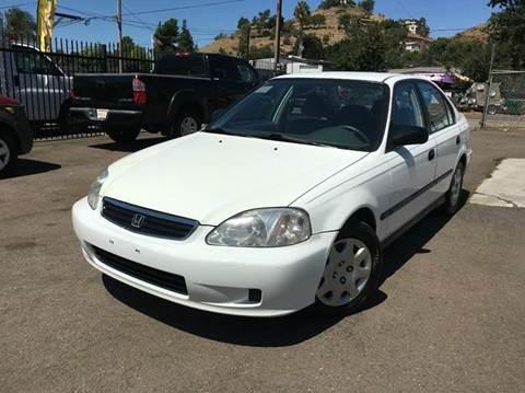 2000 Honda Civic for sale in El Cajon, CA