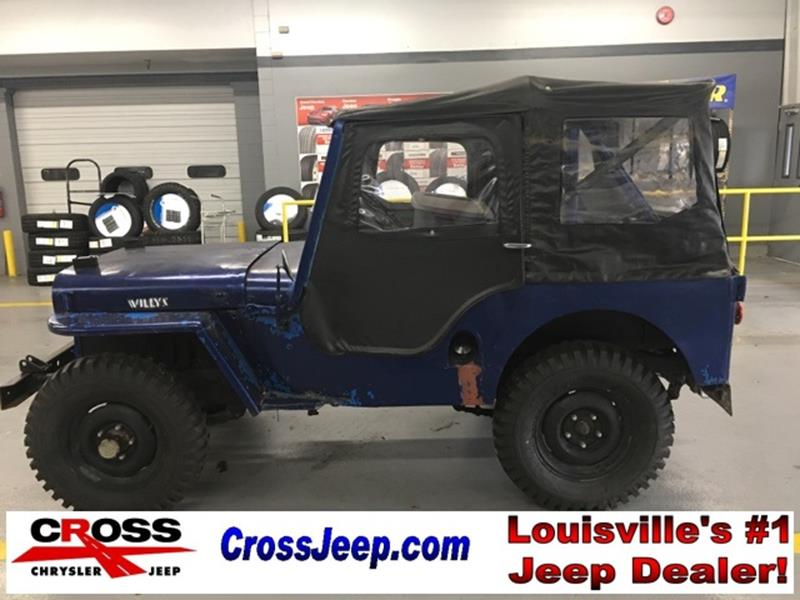 1950 Jeep Willys for sale in Louisville, KY