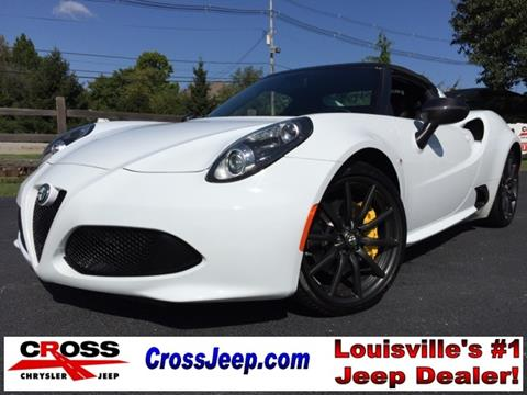 2015 Alfa Romeo 4C for sale in Louisville, KY