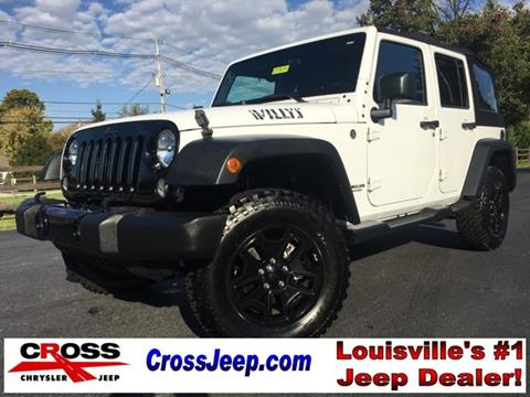 2015 Jeep Wrangler Unlimited for sale in Louisville, KY