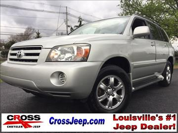 2005 Toyota Highlander for sale in Louisville, KY