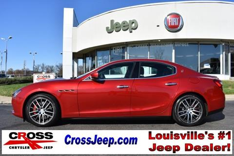 Used maserati for sale in kentucky for Cross motors louisville ky