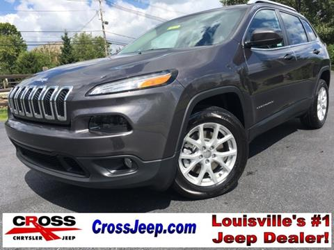 2018 Jeep Cherokee for sale in Louisville, KY