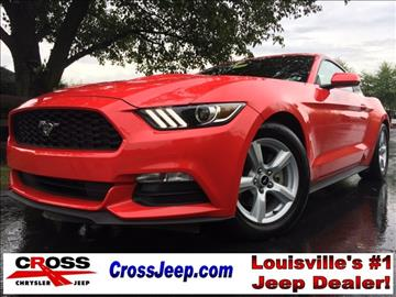2016 ford mustang for sale kentucky. Black Bedroom Furniture Sets. Home Design Ideas