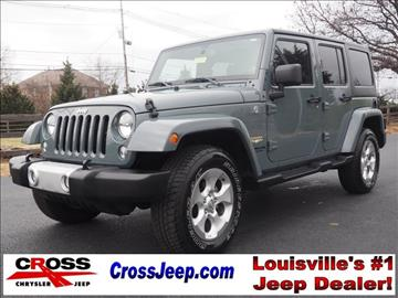 2015 Jeep Wrangler For Sale Louisville, KY - Carsforsale.com
