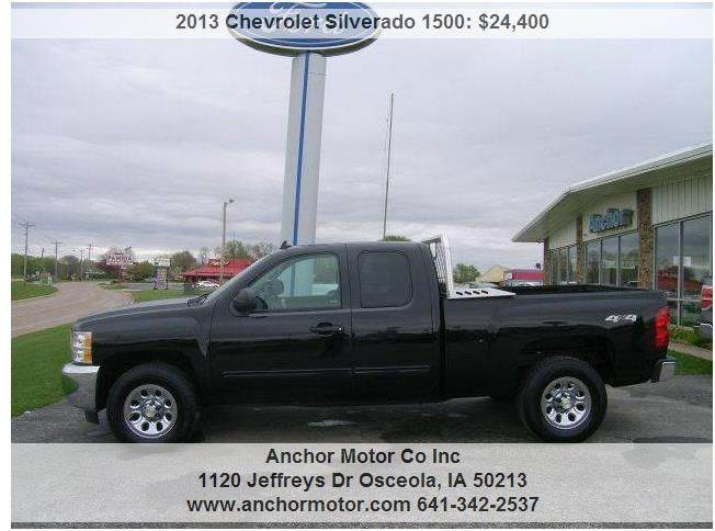 Chevrolet trucks for sale in osceola ia for Star motors iowa city