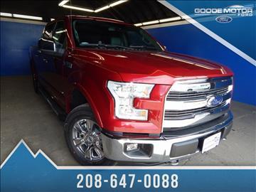 Ford trucks for sale burley id for Goode motors burley idaho