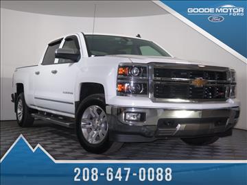 Chevrolet trucks for sale burley id for Goode motors burley idaho