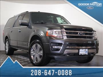 2016 ford expedition el for sale for Goode motors burley idaho