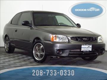 2002 hyundai accent for sale for Goode motors burley idaho