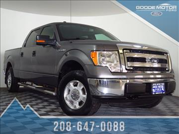 Used ford trucks for sale in idaho for Goode motors burley idaho