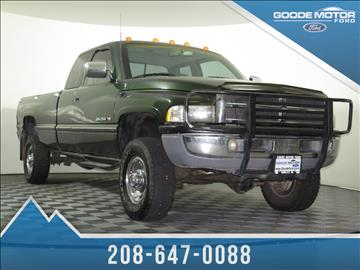 1996 dodge ram pickup 2500 for sale for Goode motors burley idaho