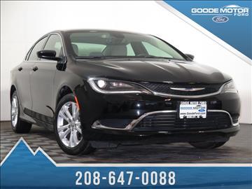 Chrysler for sale cibolo tx for Goode motors burley idaho