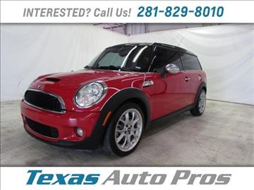 2010 MINI Cooper Clubman for sale in Houston, TX