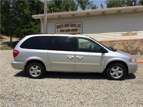 2007 Dodge Grand Caravan for sale in New Alexandria, PA
