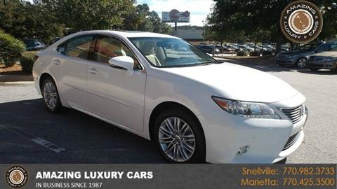 2013 Lexus ES 350 for sale in Marietta, GA