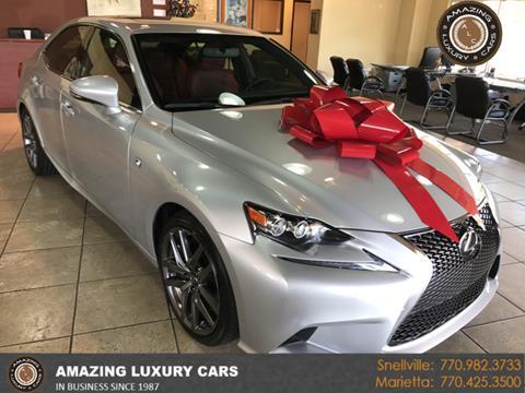 2015 Lexus IS 350 for sale in Marietta, GA