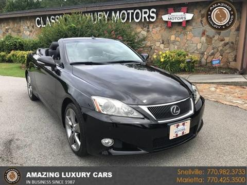 2010 Lexus IS 250C for sale in Marietta, GA