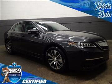 2015 Acura TLX for sale in Frederick, MD
